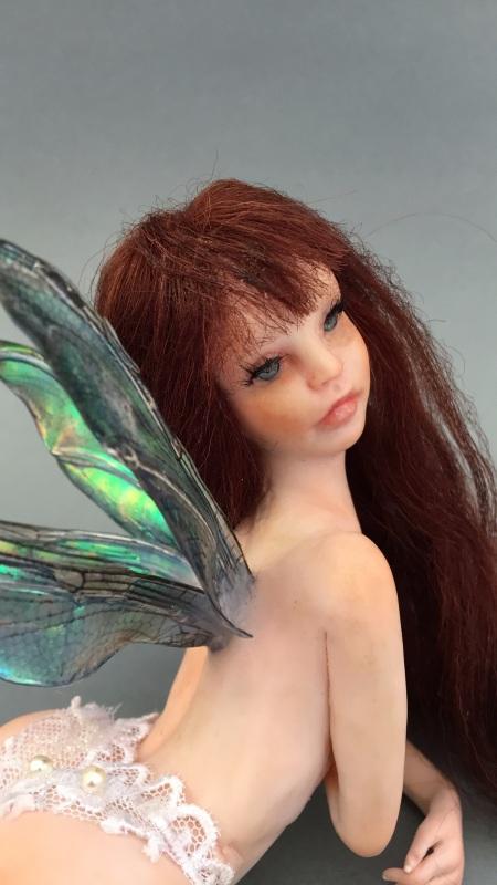 Sexy Fairy OOAK Doll Art Sculpture 2rzub8l