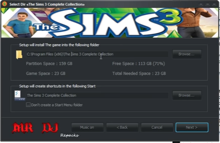 Sims 3 Complete Collection - Null Pointer Exception and install not completing 2s6kio1