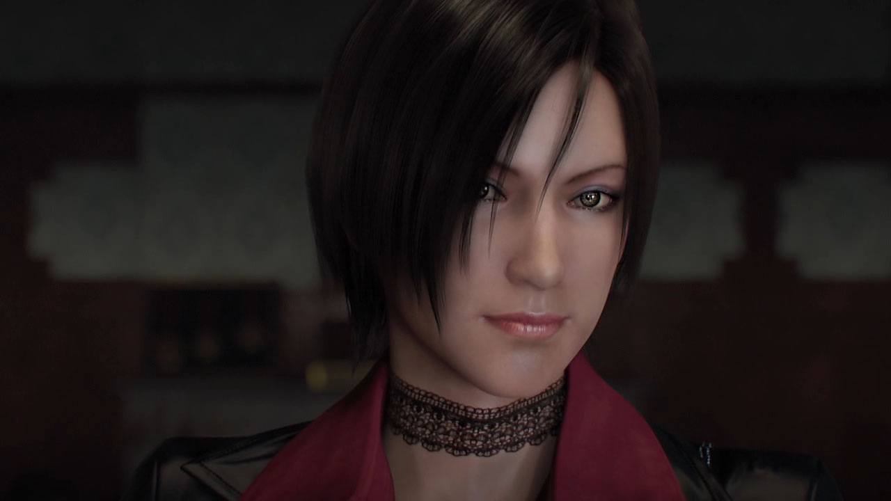 Ada Wong [Sexy Red Suit] Mercenaries & Separate ways 2u5ur85