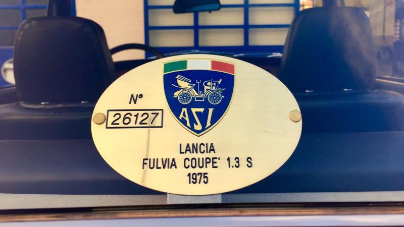 1975 Lancia Fulvia 2vdmvqp