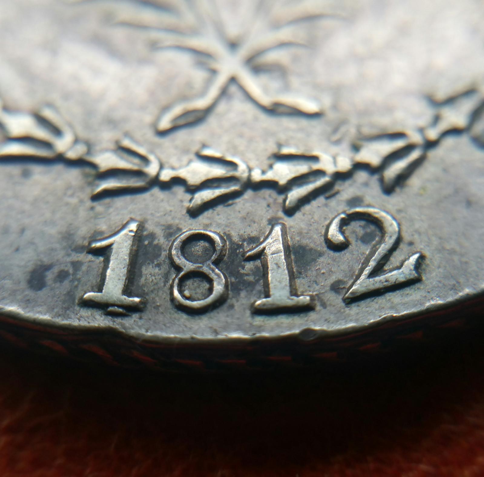5 pesetas 1812. Barcelona. Ocupación francesa 2w4herm
