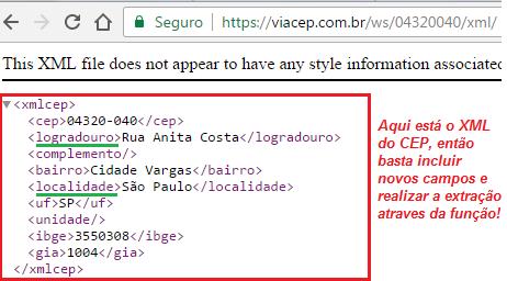 Busca CEP site ViaCEP 2w6dpps