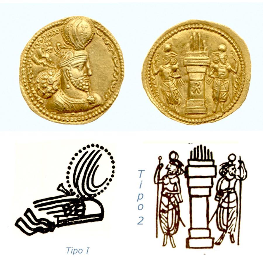Las coronas de los shas de Persia. 2wf7qsx
