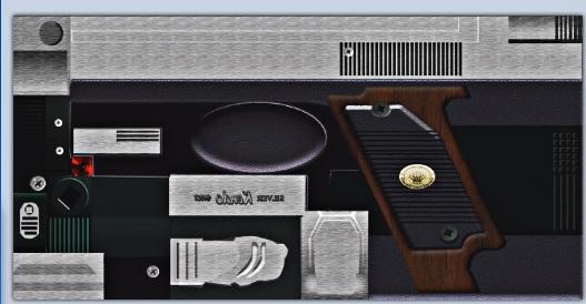Handgun HD Leon/Wesker 2wplama