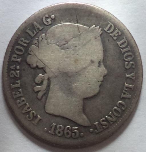 Monedas Españolas de las Filipinas 30ldl75