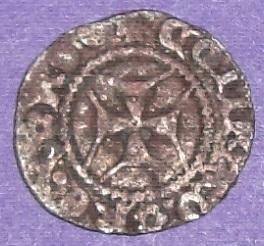 Italia: (Genova). Denaro de Tomaso di Campofregoso (1436-1442)  33fesgo