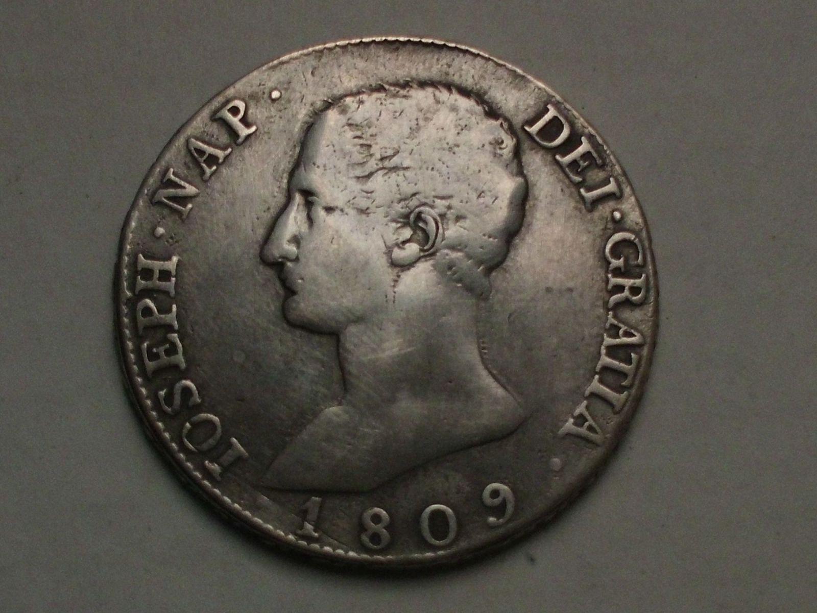 jose napoleon 20 reales 1809 madrid 33o2q2c