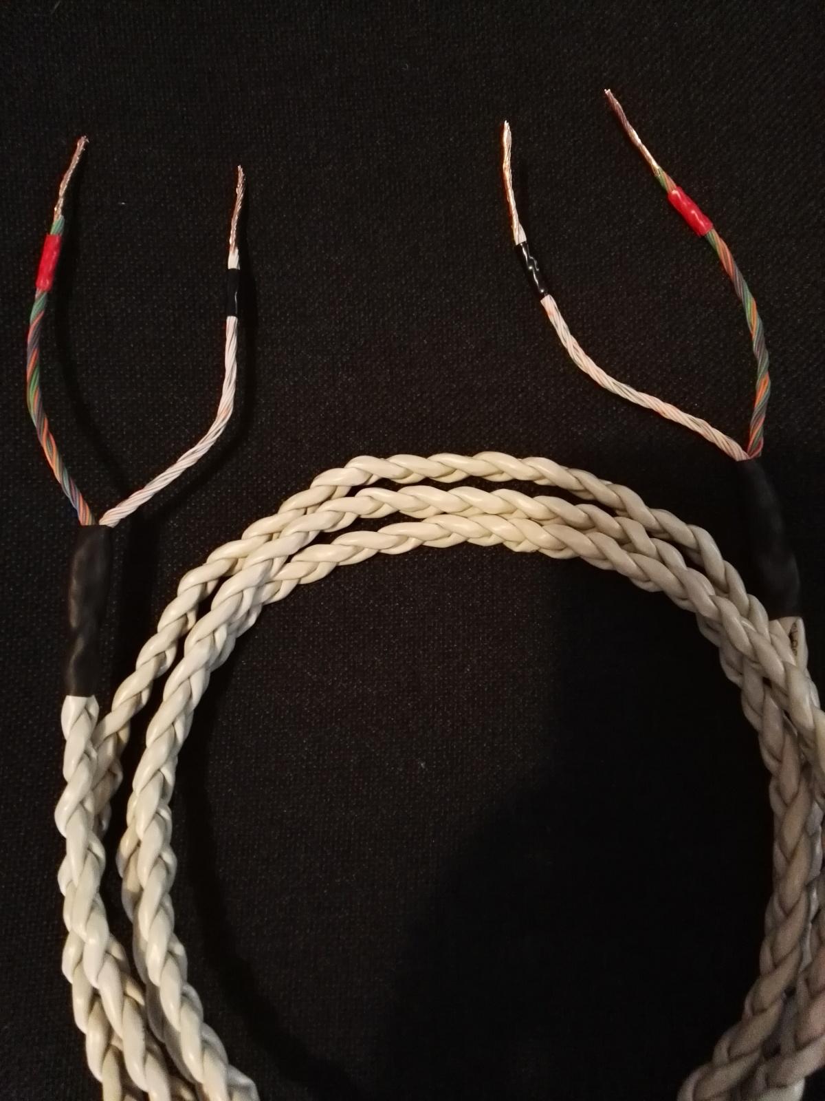 I miei primi cavi di potenza con cavo Cat5 35cejdj
