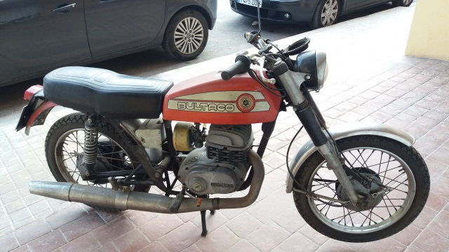 Mi Bultaco Mercurio 175 Gt 35cphzo