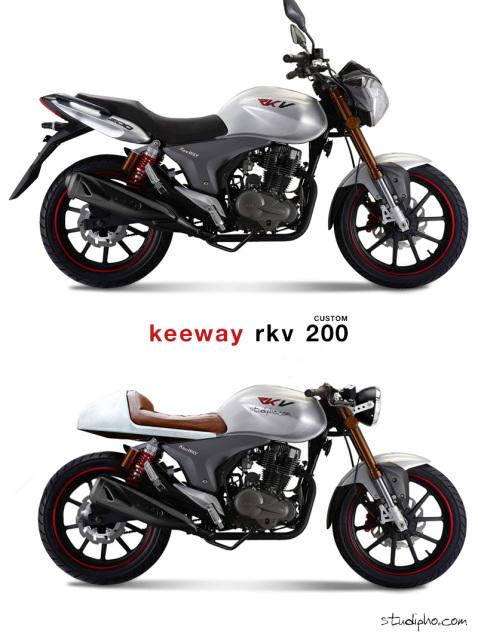 Keeway Cafe Racers 35hl7va