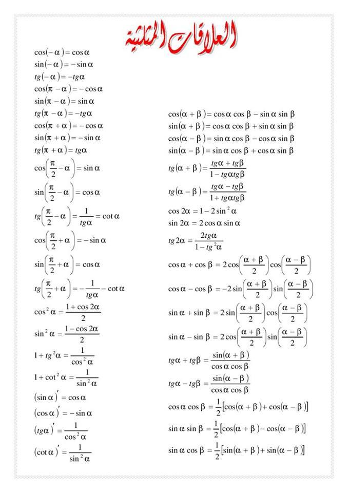 وحدات القياس الضرورية في الدراسة 69qq1x