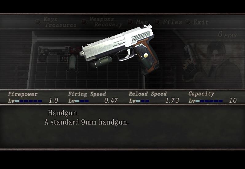Handgun HD Leon/Wesker 6yh2sp