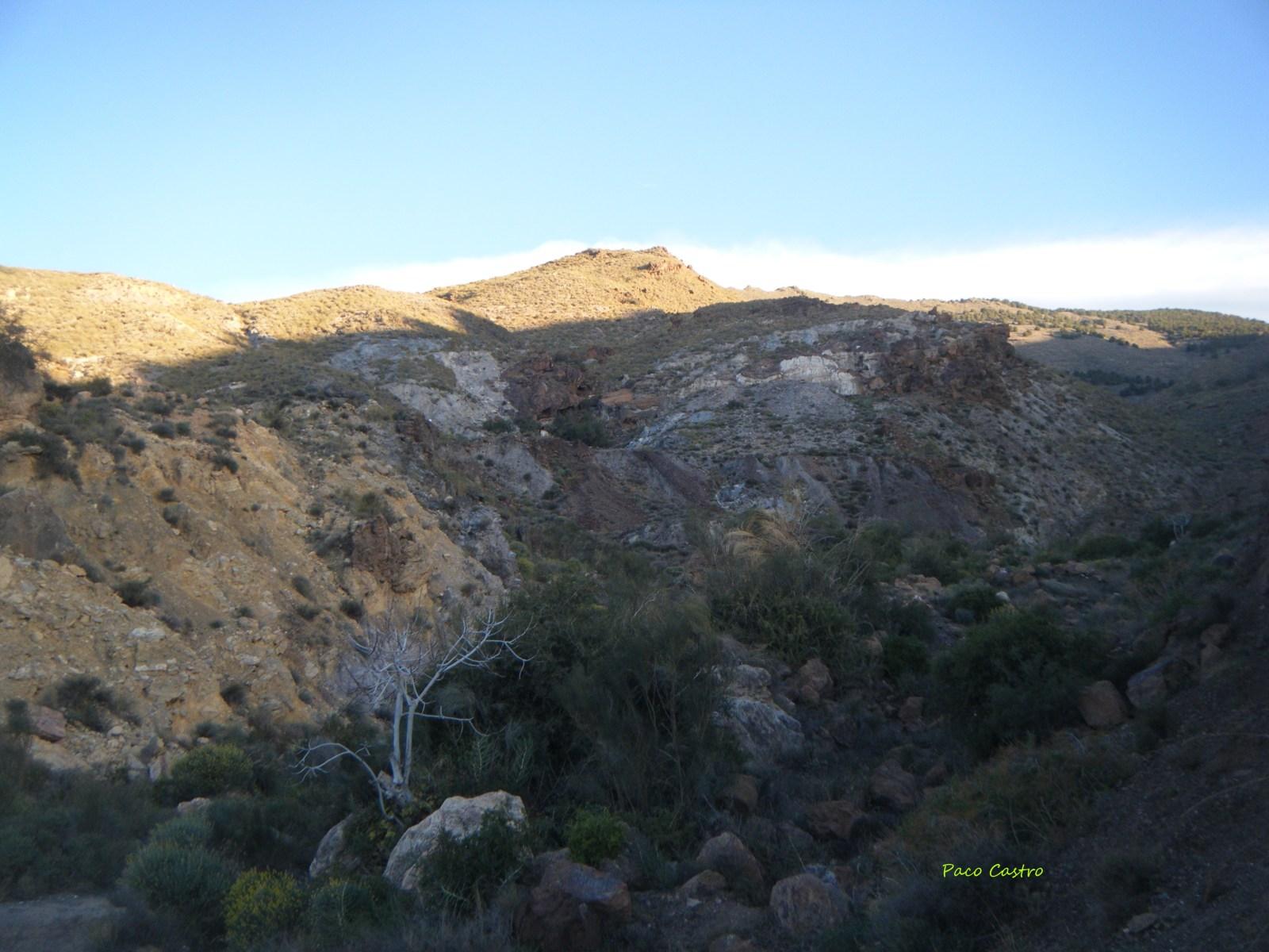 Mina Quince de Noviembre, Los Baños de Sierra Alhamilla, Pechina, Almeria, Andalucia, España 7266no