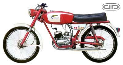 Las primeras Ducati 48 con cambio al pie 9iu6p3