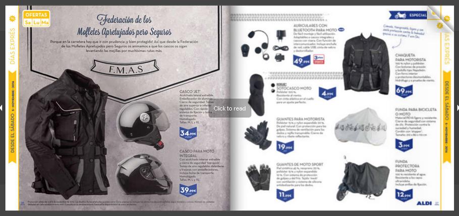 Productos para motos en ALDI 9pntpj