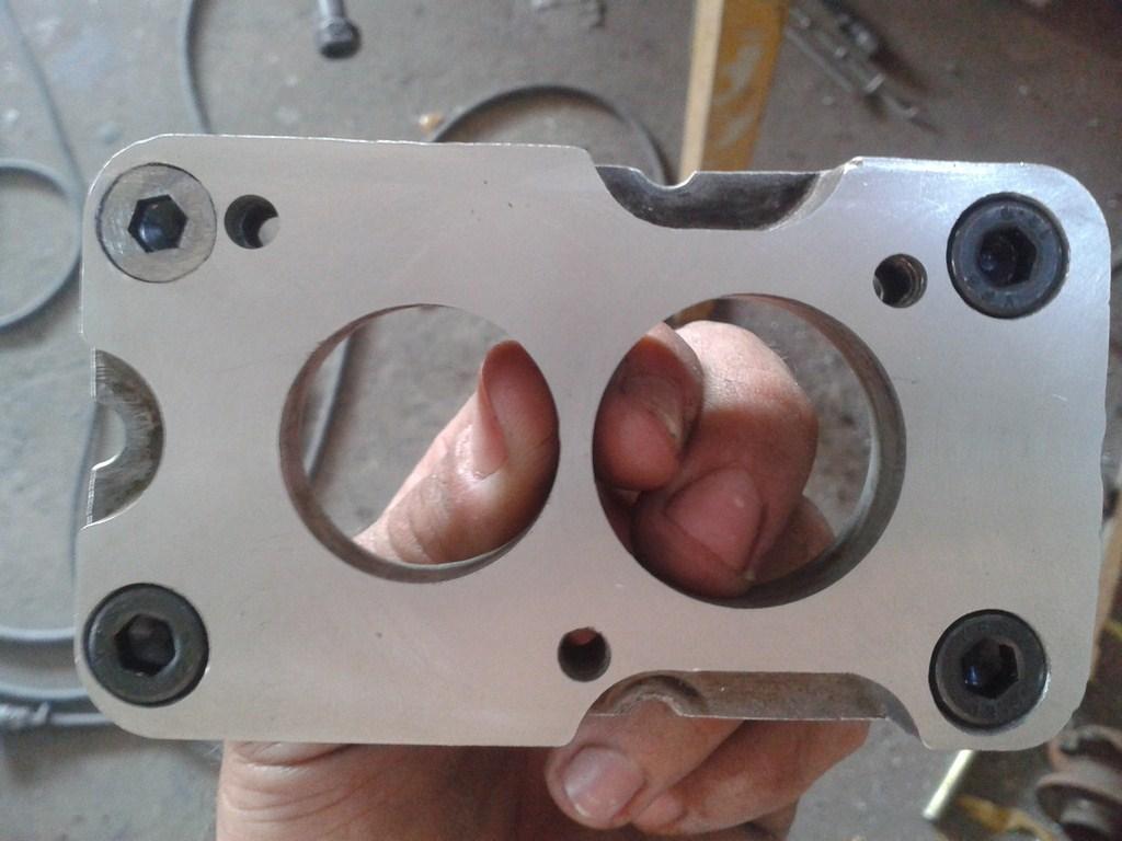 TUTORIAL de Instalação do Carburador 3E no Coletor do H34 com flange! Aexyxs