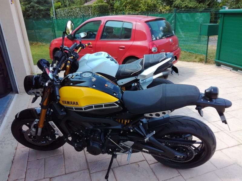 XSR900 ombrosia Afisty