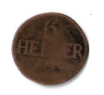 6 Heller ¿de qué principado alemán? Be641