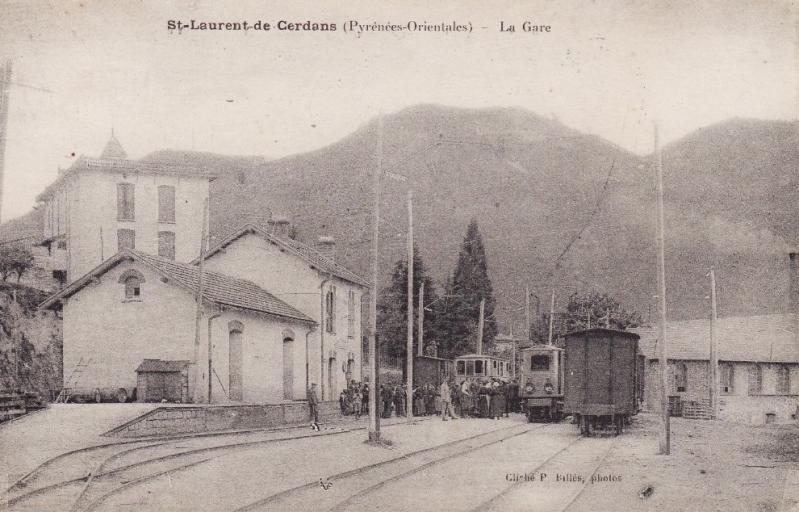 El tren petit de l'Alt Vallespir. Bg2qza