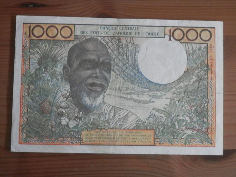 1000 Francos, Togo, 1977 Bhf2fl