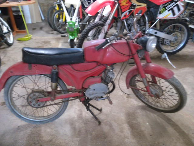 Moto Guzzi Dingo... regalada Biueqw