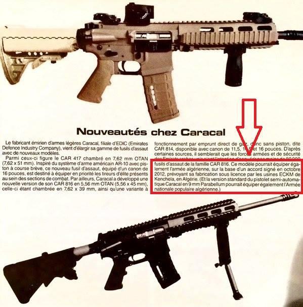 """تصنيع أول مسدس """"كركال"""" بالجزائر في 2014 - صفحة 2 Efmpon"""