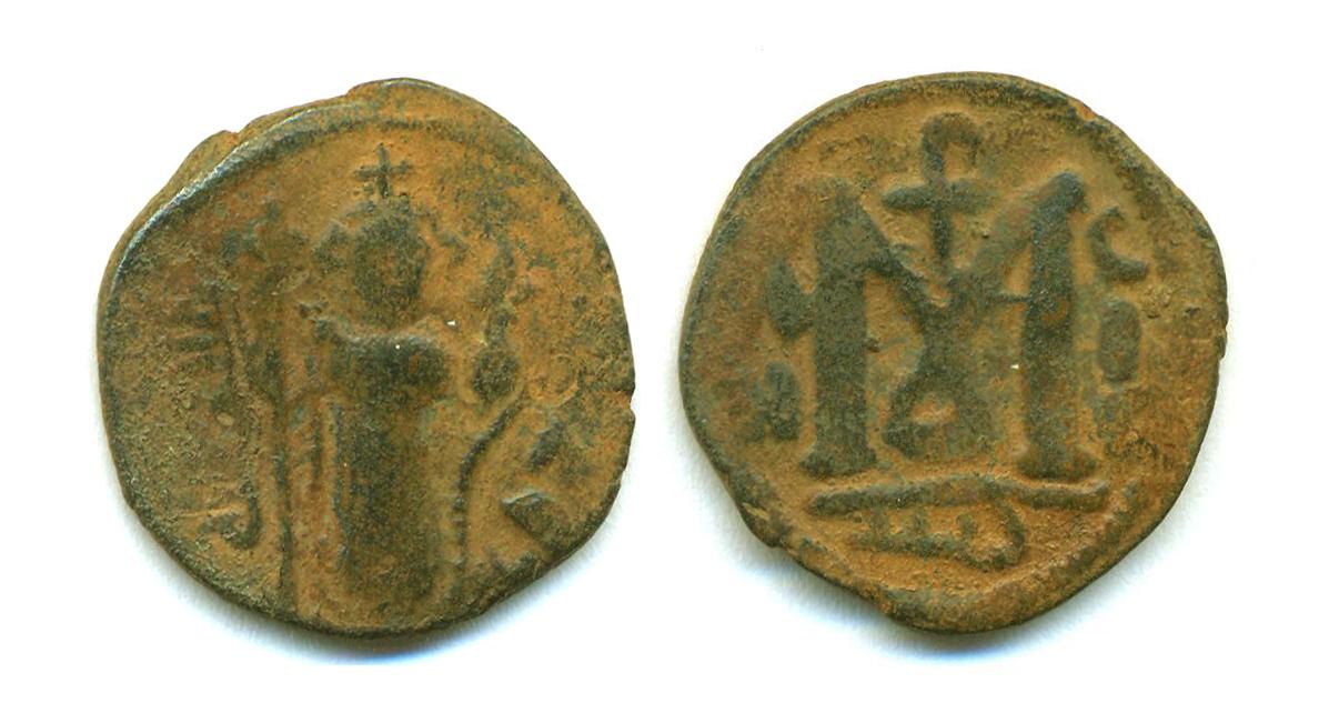 2 Felus arabe-bizantino Eim5v7
