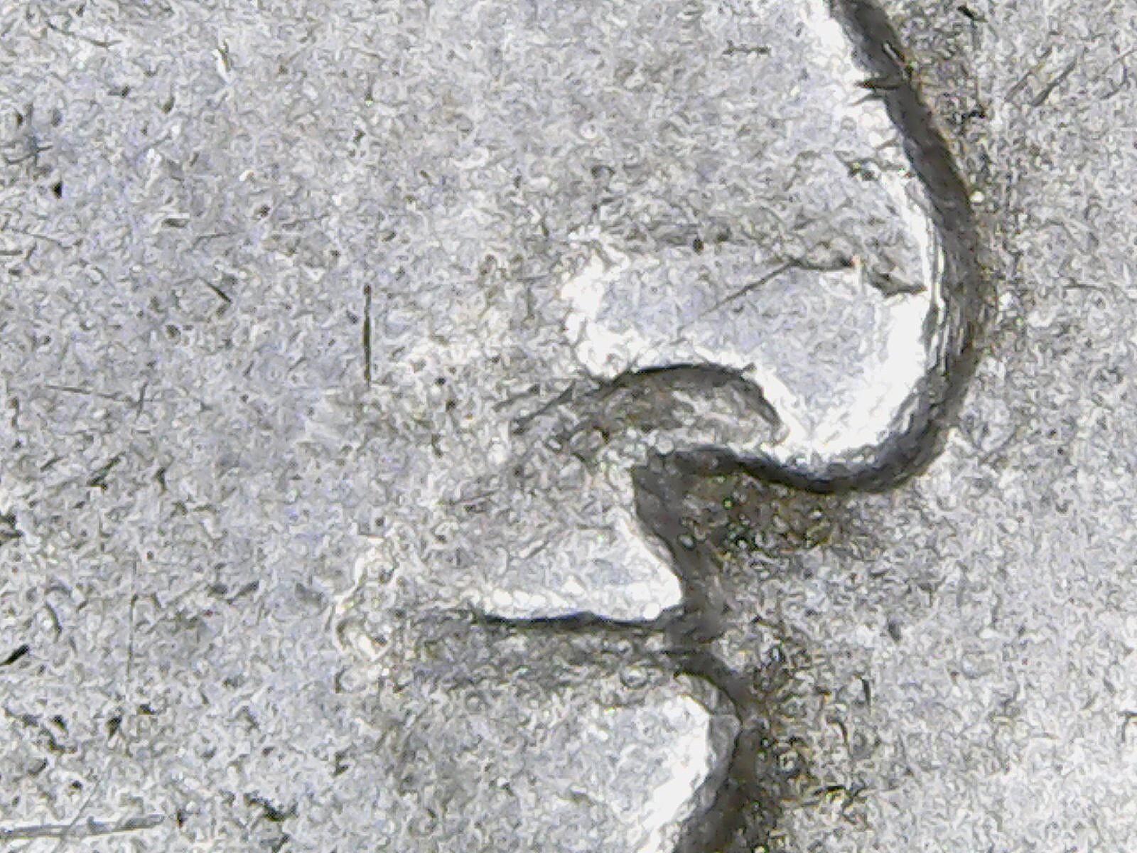 Resultados de un microscopio USB: detalles de las monedas  Hs87bb