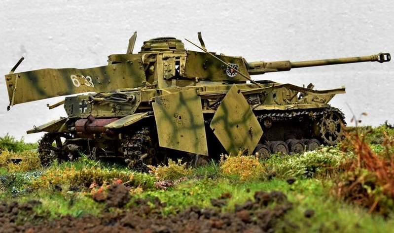 """Pz.Kpfw. IV Ausf. G, или… пламенный привет от """"зверобоя""""… 1/35 I4gzzb"""