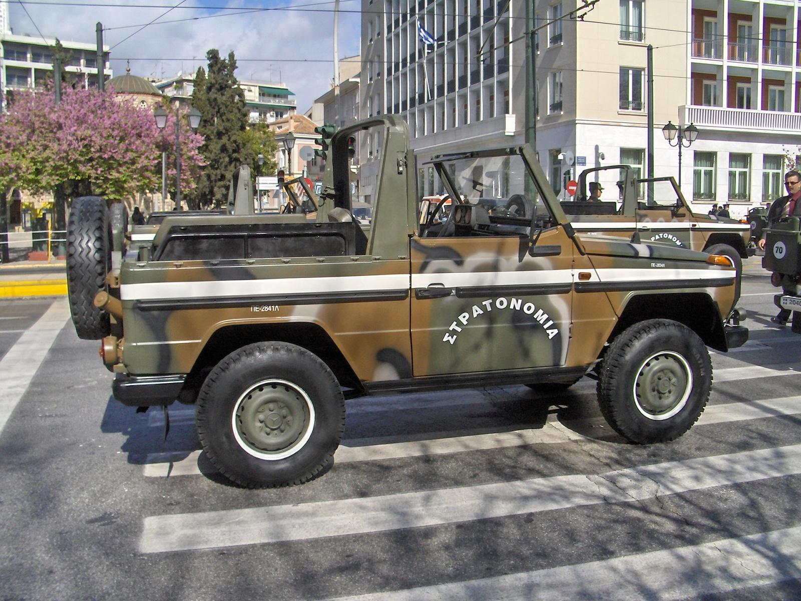 (W462): A Classe G montada em CKD para o exército grego Ifvl07