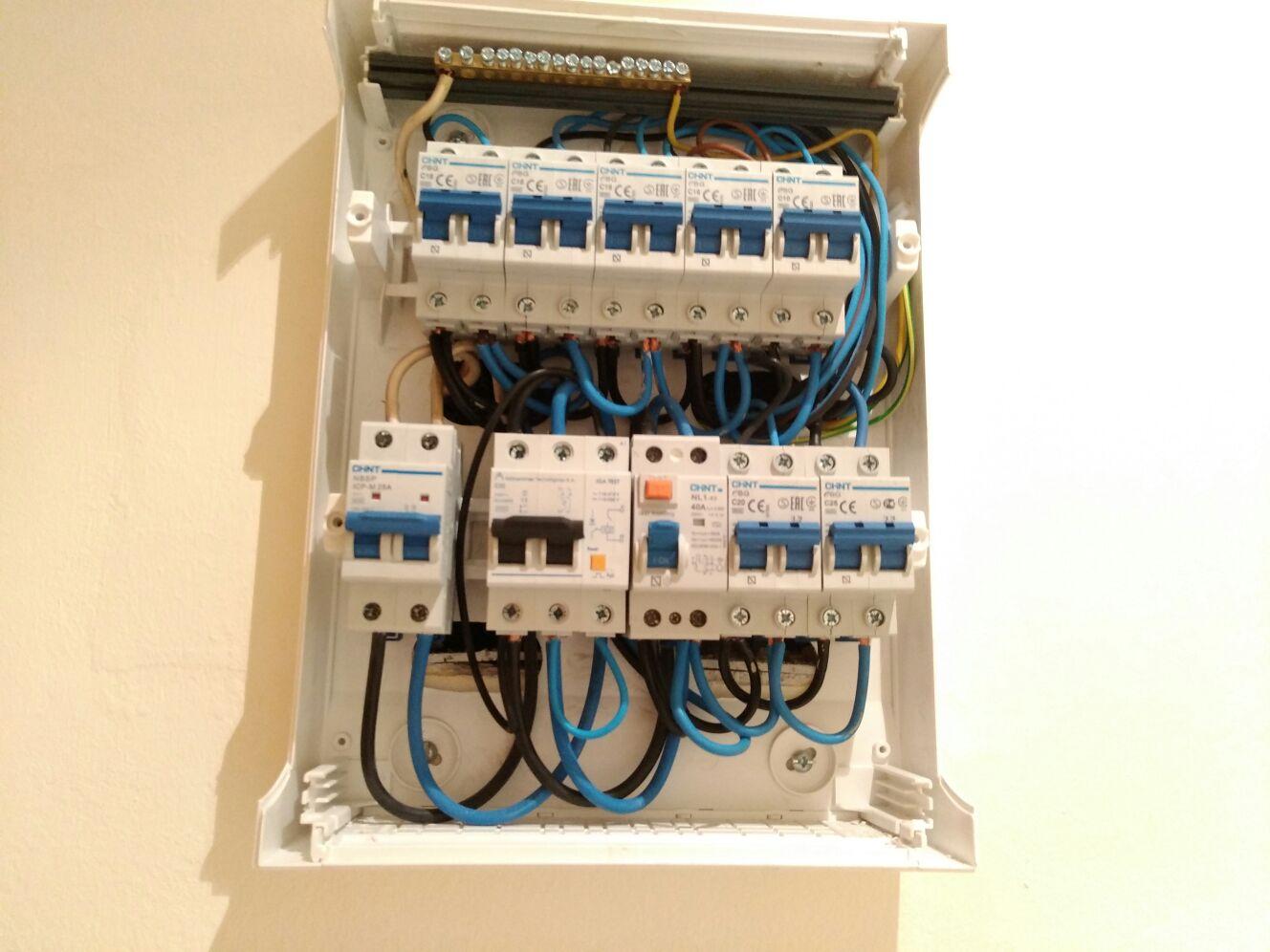 Problemas en instalación eléctrica. Recomendación de un buen profesional. Ip13bm