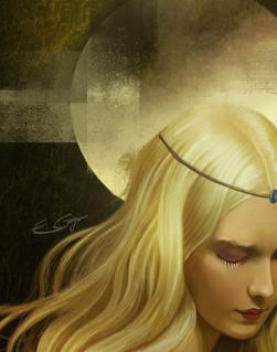 """Portafolio de """"El nombre del viento"""" 10 ilustraciones  Jpk461"""
