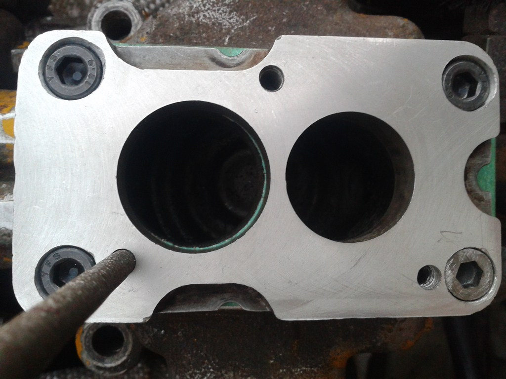 TUTORIAL de Instalação do Carburador 3E no Coletor do H34 com flange! Jqncb6