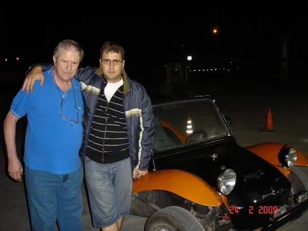 Mi Presentación con mi Burro buggy K34mza