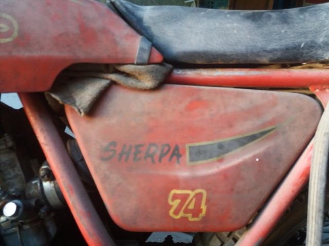 Bultaco Sherpa 74 - Farré Mbsggg