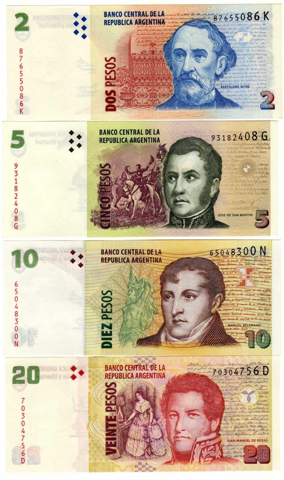 Argentina y su extraño cono monetario. Ml07bb