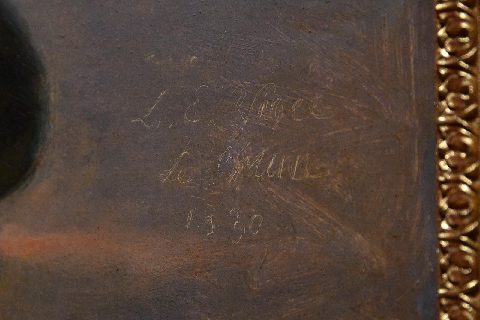 Signature d'Elisabeth Vigée Le Brun N472mv