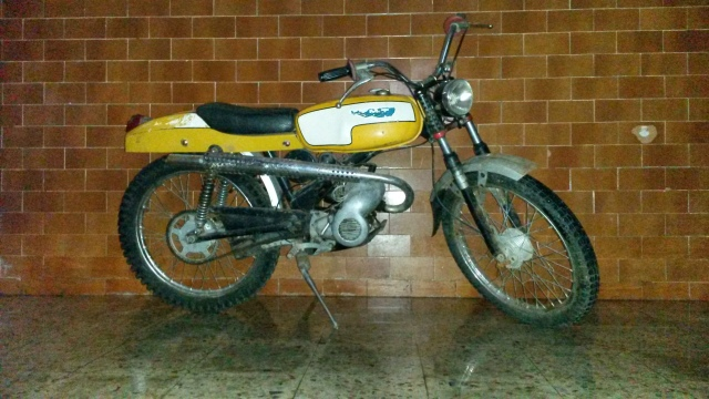 MT 50 TT Mc Gregor Réplica O938zq