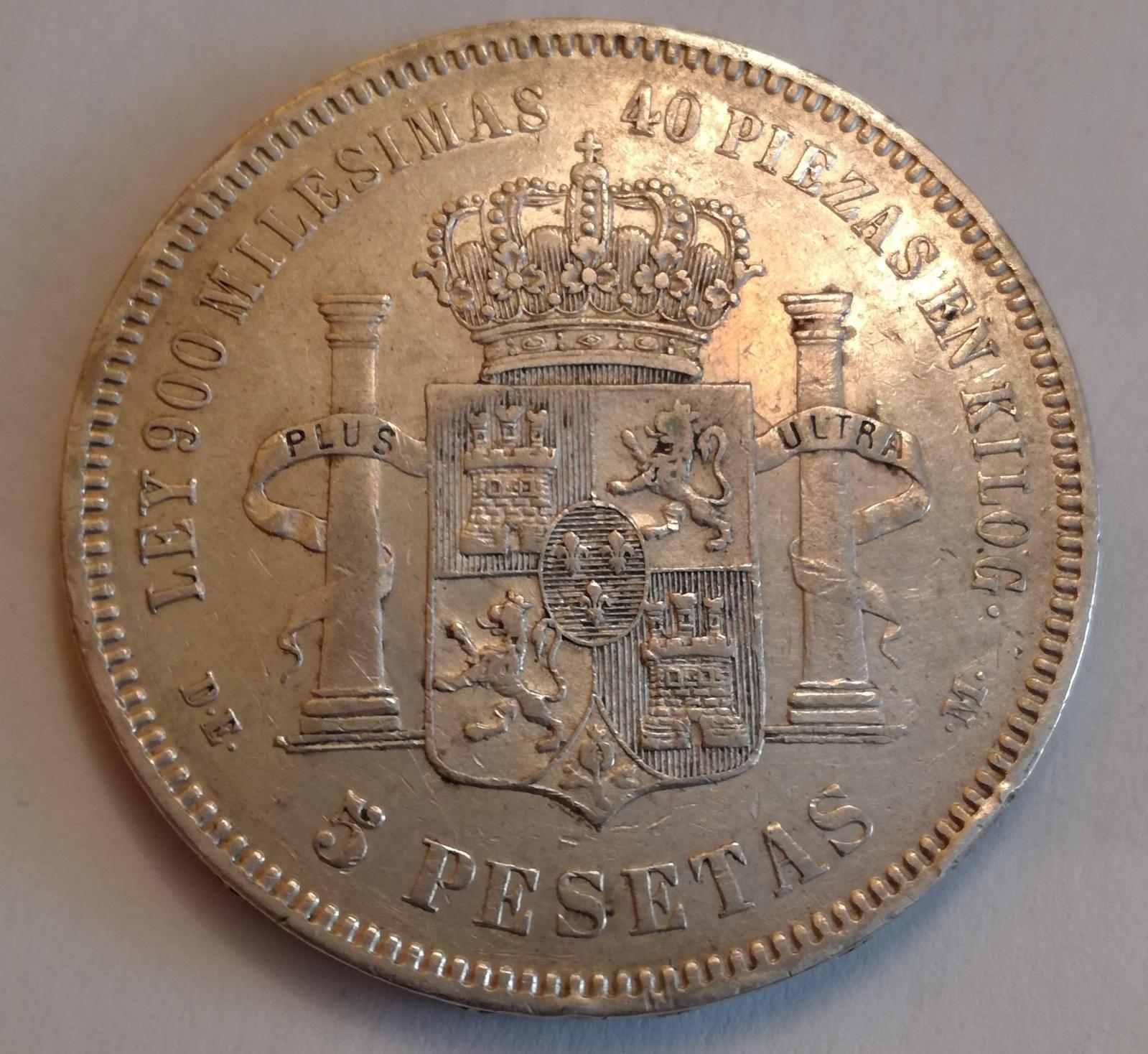5 pesetas 1875*75 oreja rayada Ob05eq