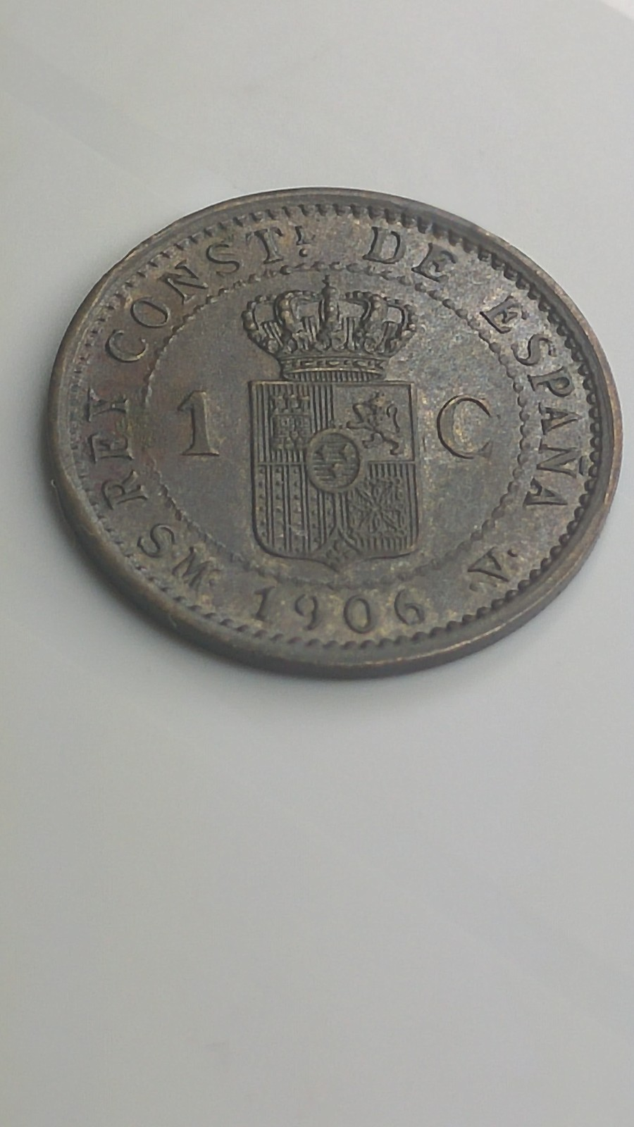 1 céntimo 1906. SMV. Alfonso XIII R8gy93