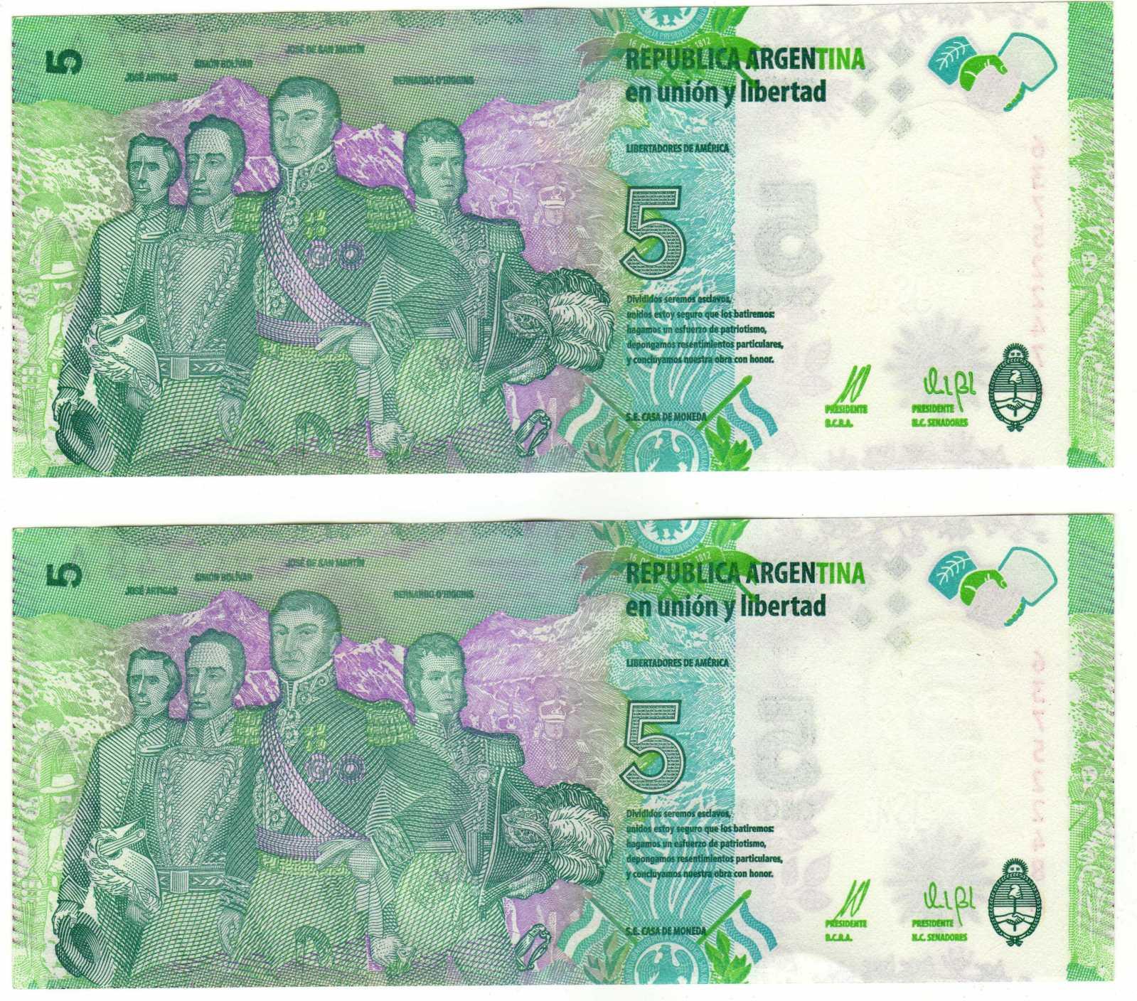El Billete mas feo que se imprimió en Argentina. Rkdjr5