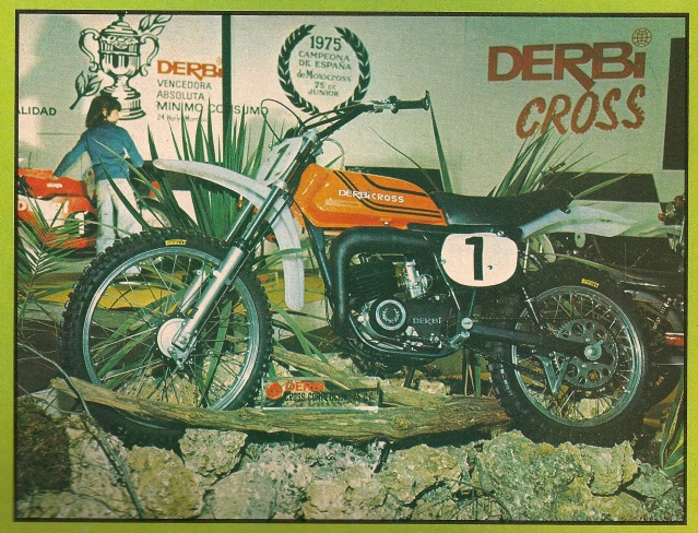 La Derbi Cross 74 de un Puchero S1ook0