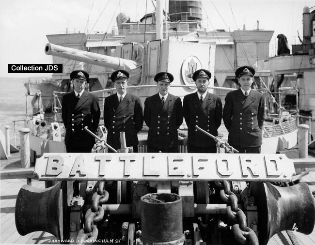 Corvette HMCS Battleford Sg0gnb