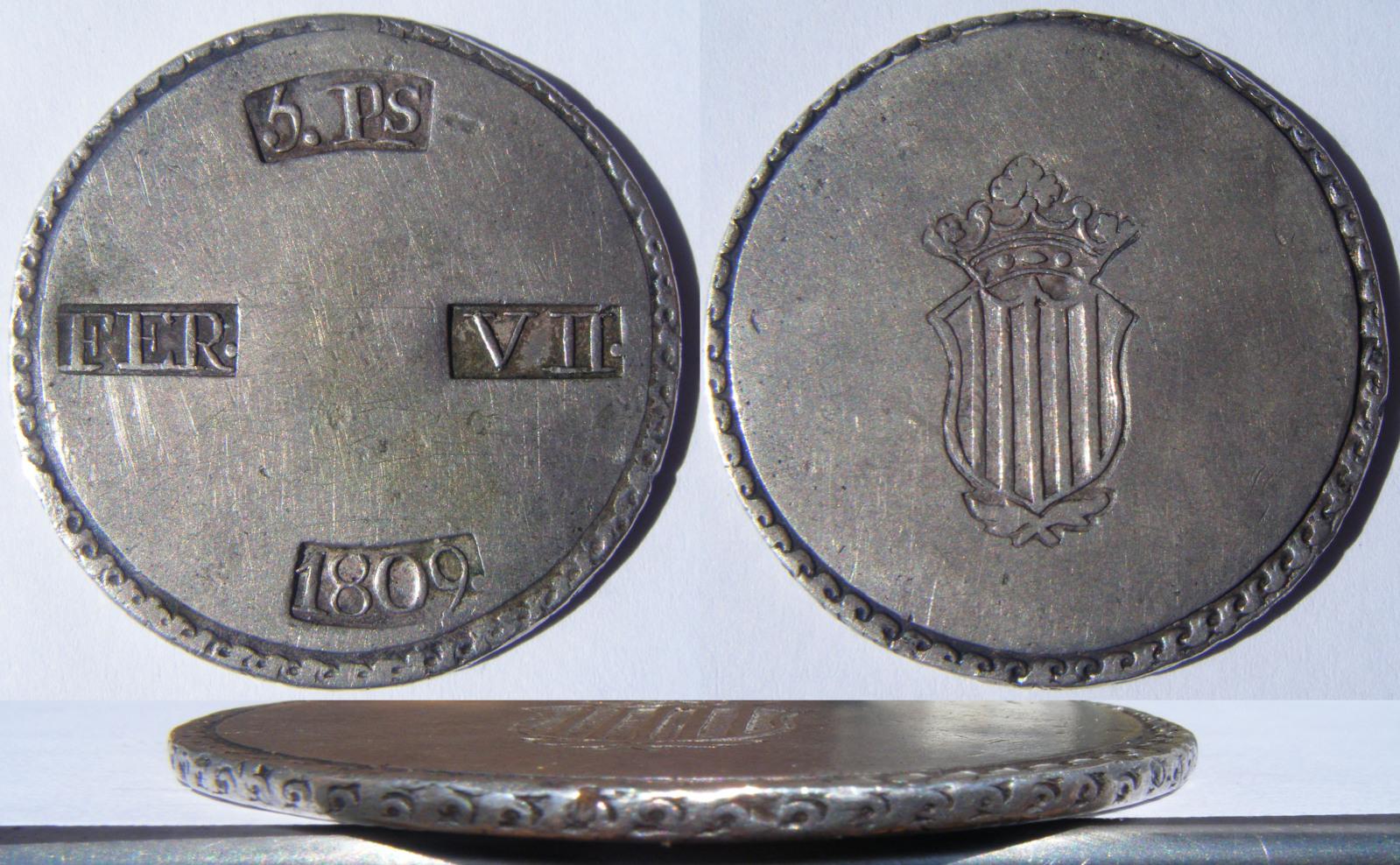 Monedas catalanas. T0s0vn