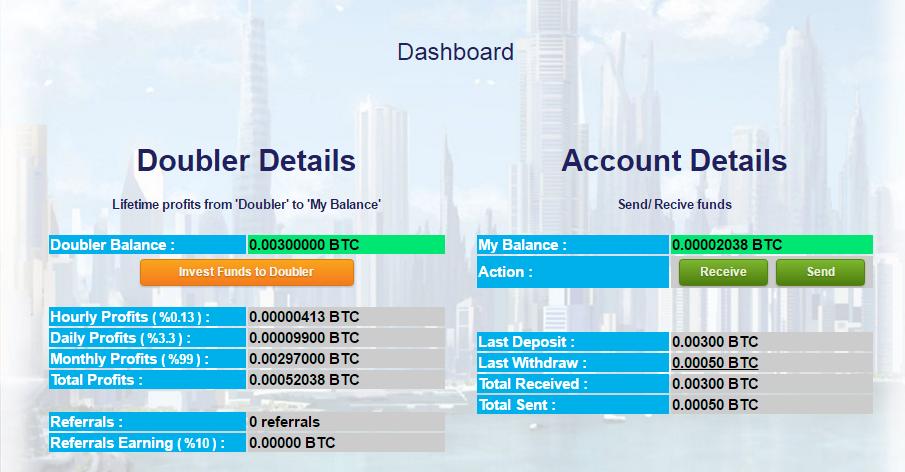 [Scam] CoinnBank - Dobre seus bitcoins em 1 mês - (Recebi 0,00125 BTC) V45agy