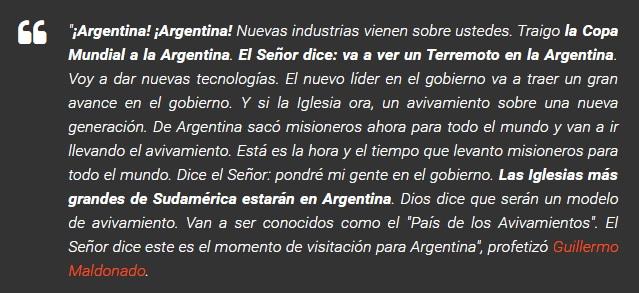 Predicciones para Argentina 2015-2020 V4v67o