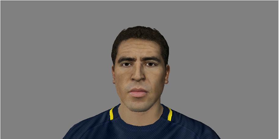 Faces de Riquelme y Verón V4w084