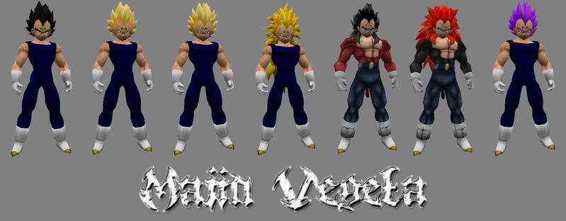 [Models Sin Amxx] Majin-Vegeta All Forms by YuKamui V8pjf5