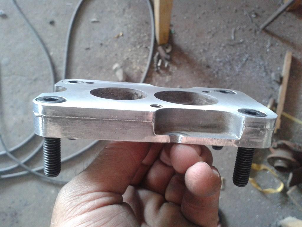 TUTORIAL de Instalação do Carburador 3E no Coletor do H34 com flange! Vfyqsn