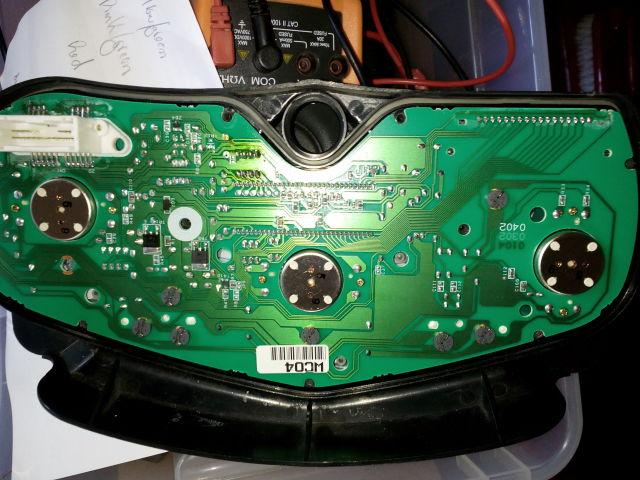 CBR 600 F4 sem km / rotações / velocidade e temperatura W02xat